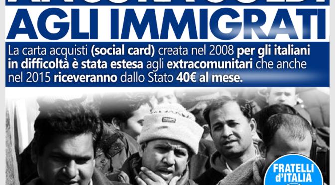 Marco Santi Guerrieri – L'immigrazione non e' un diritto.