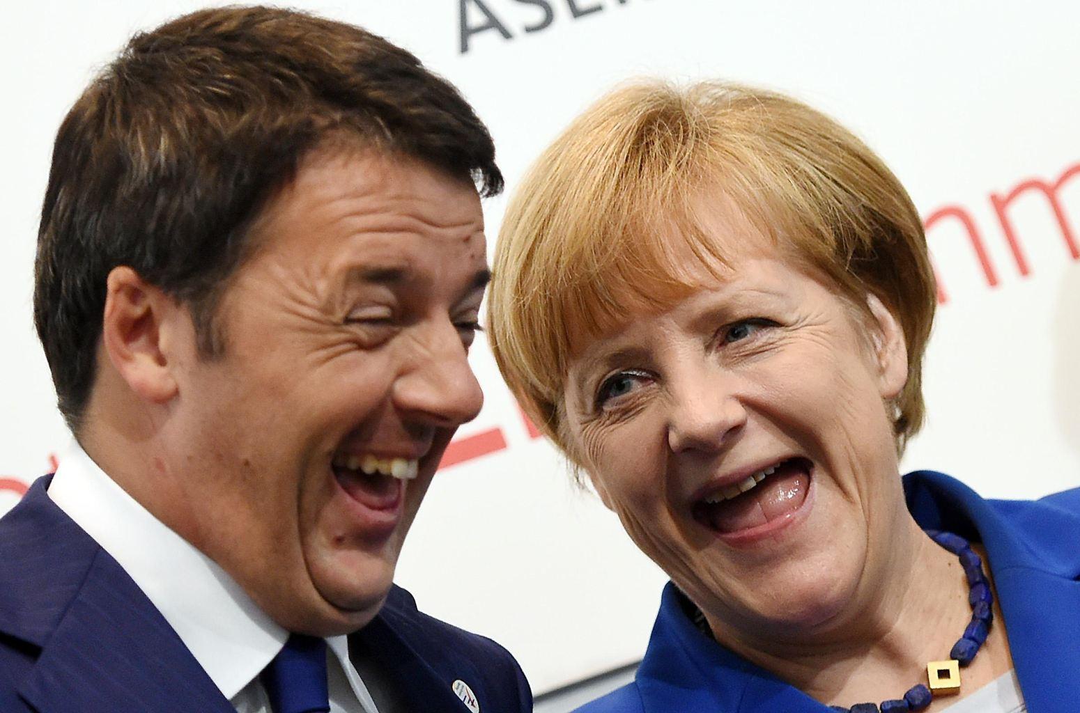 Renzi-Merkel1