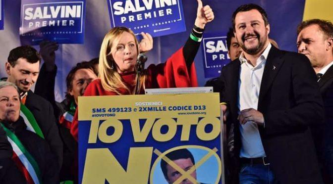 Marco Santi Guerrieri – In quarantamila a Firenze per mandare a casa il Governo Renzi.