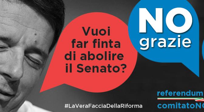 Marco Santi Guerrieri – Referendum – VOTARE NO e' IMPERATIVO –