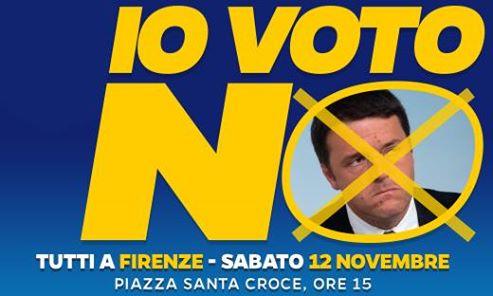 Marco Santi Guerrieri-Votare si  per dare più potere a chi oggi ci toglie i nostri diritti? IO VOTO NO!