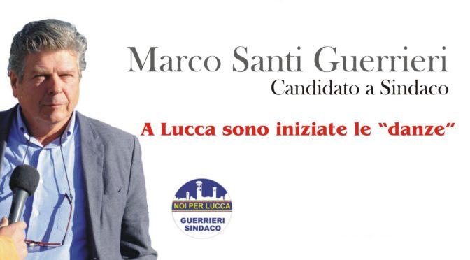 """Marco Santi Guerrieri a Lucca sono iniziate le """"Danze"""""""