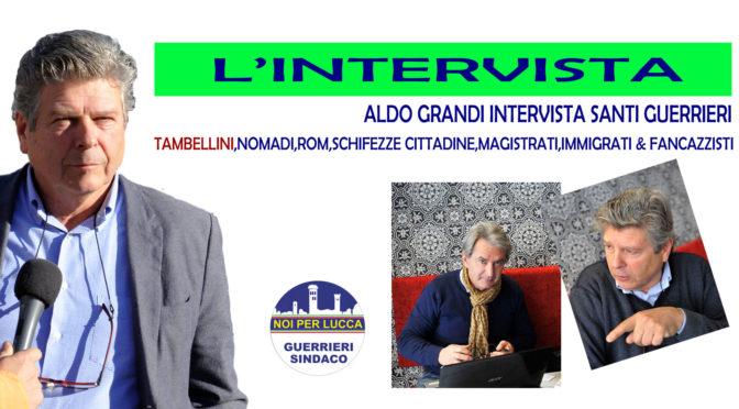 Marco Santi Guerrieri, intervistato da ALDO GRANDI